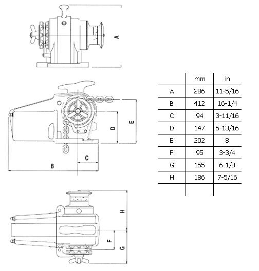 lofrans project 1000 windlass owners manual