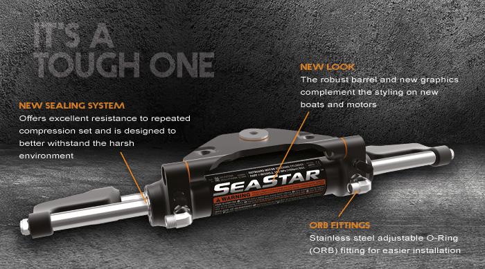 Seastar Hc5445 3 Marine Hydraulic Steering Cylinder