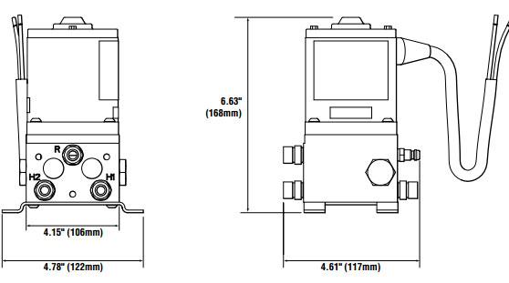 Seastar 24v Autopilot Pump Ap2433 Type 2 100in Min